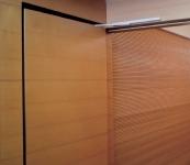 Puertas y revestimientos en madera