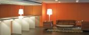Carpinteria interiorismo para salas de espera oficinas